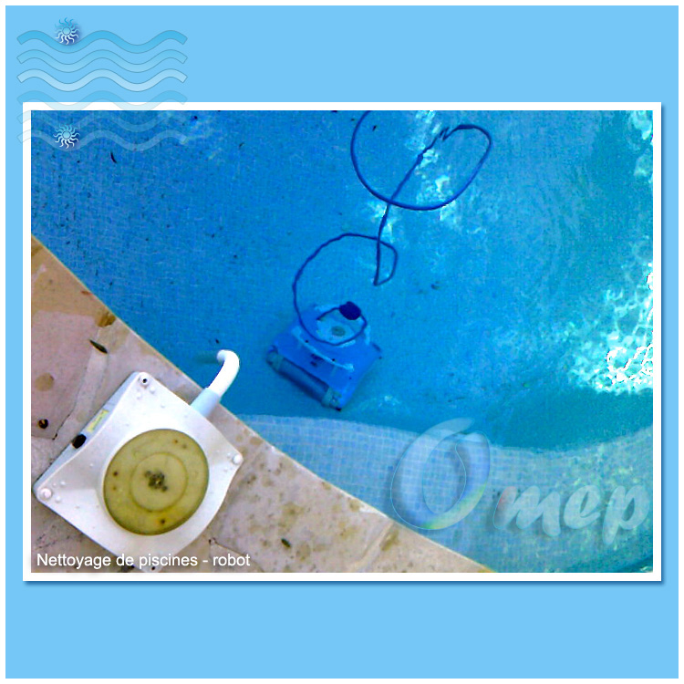 Entretien piscines com maintenance de piscines sur la - Robot nettoyage piscine ...